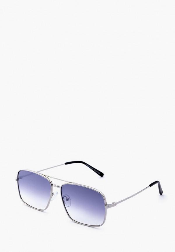 мужские солнцезащитные очки machete, серебряные