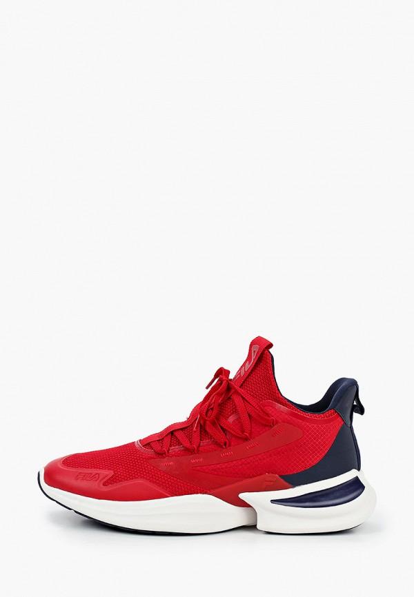 мужские низкие кроссовки fila, красные