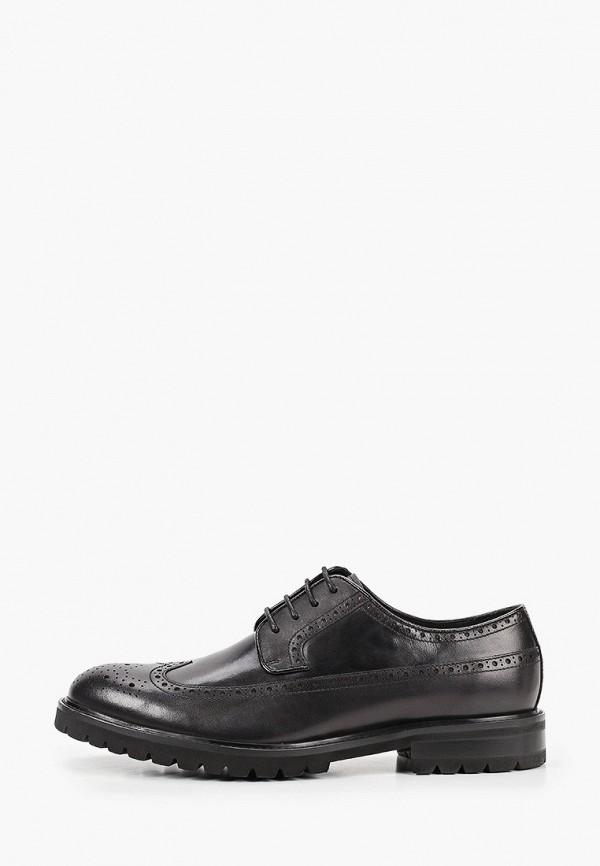 мужские туфли-дерби henderson, черные