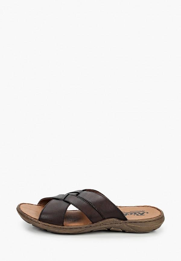 мужские сандалии rieker, коричневые