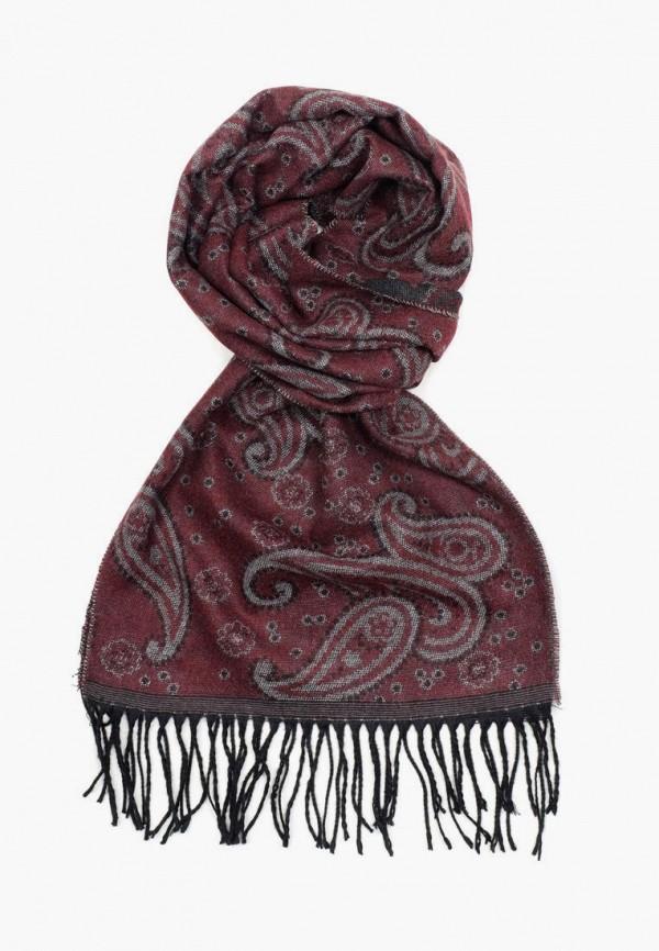 мужской шарф oxtandfort, бордовый