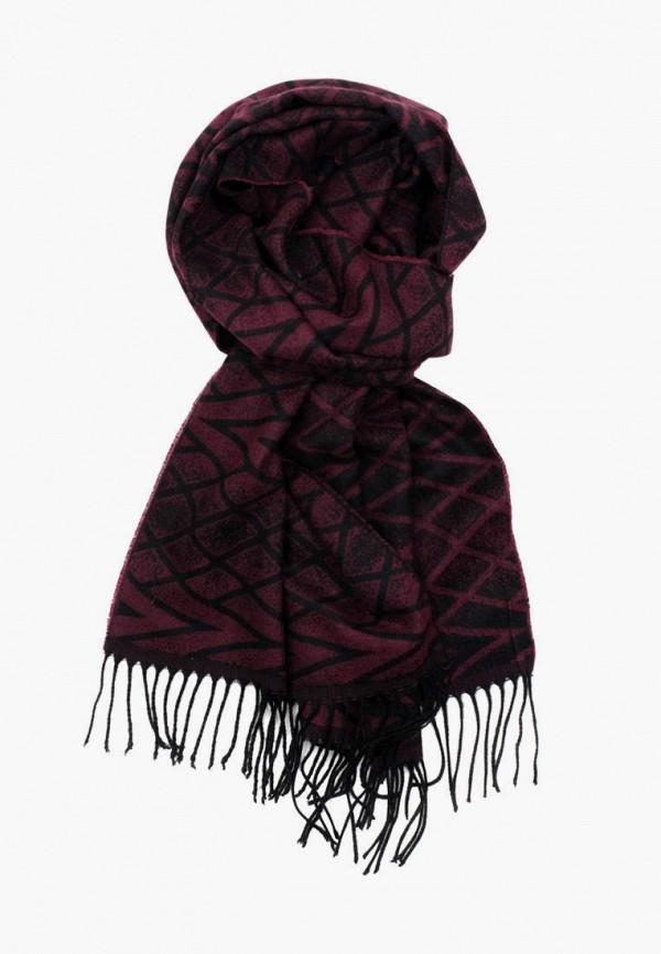 мужской шарф pierre lauren, бордовый