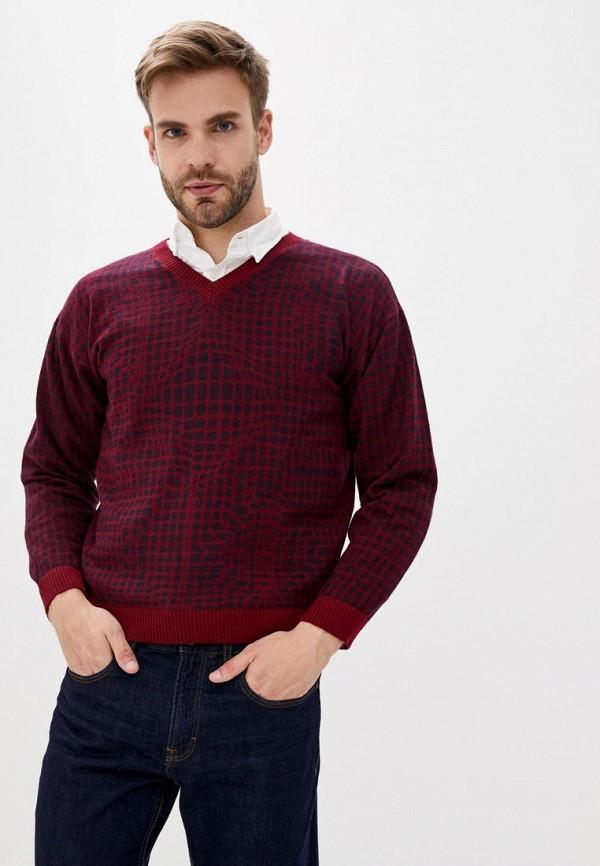 мужской пуловер nataclub, бордовый