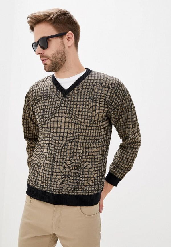 мужской пуловер nataclub, коричневый