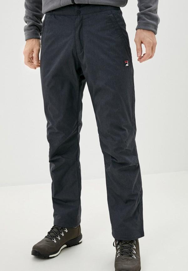 мужские утепленные брюки fila, серые