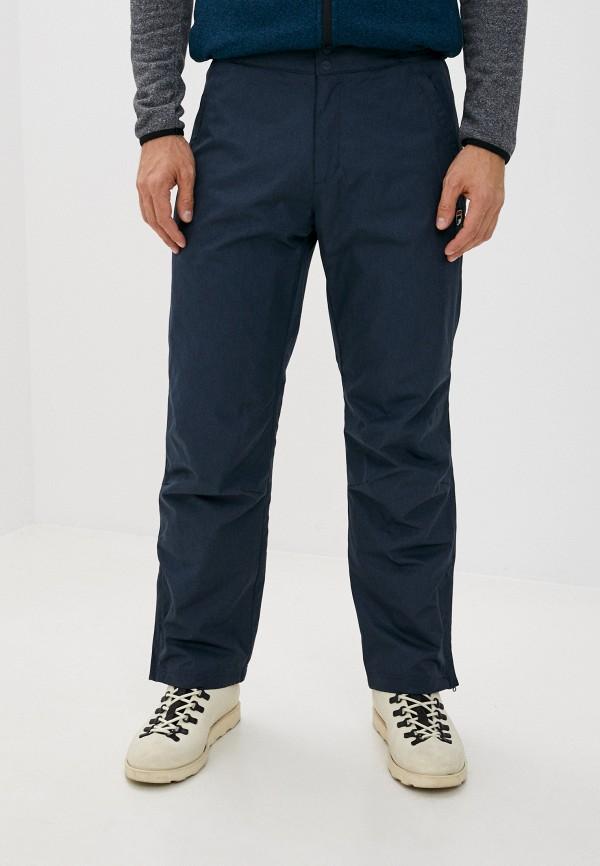 мужские утепленные брюки fila, синие