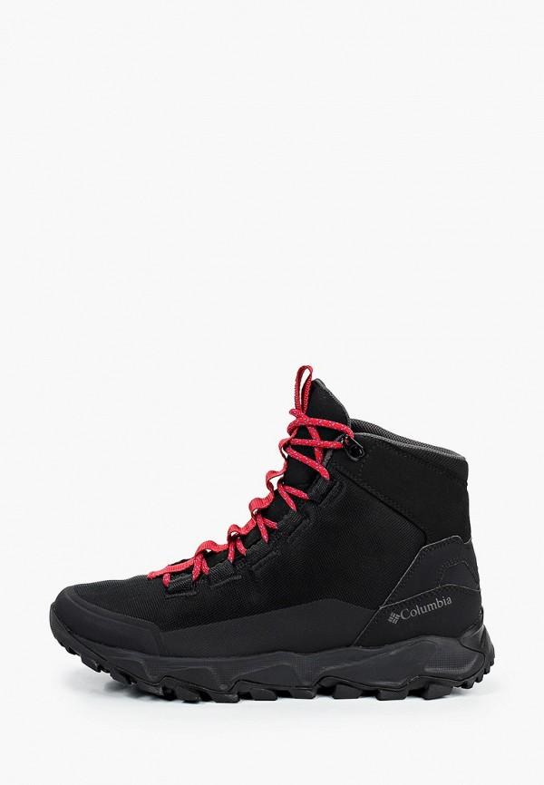 мужские высокие кроссовки columbia, черные