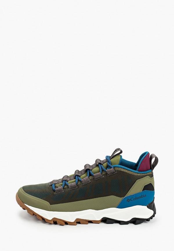 мужские низкие кроссовки columbia, хаки