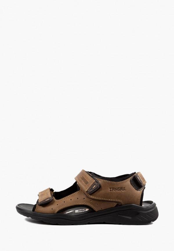 мужские сандалии zangak, бежевые