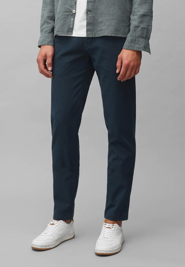 мужские прямые брюки marc o'polo, синие