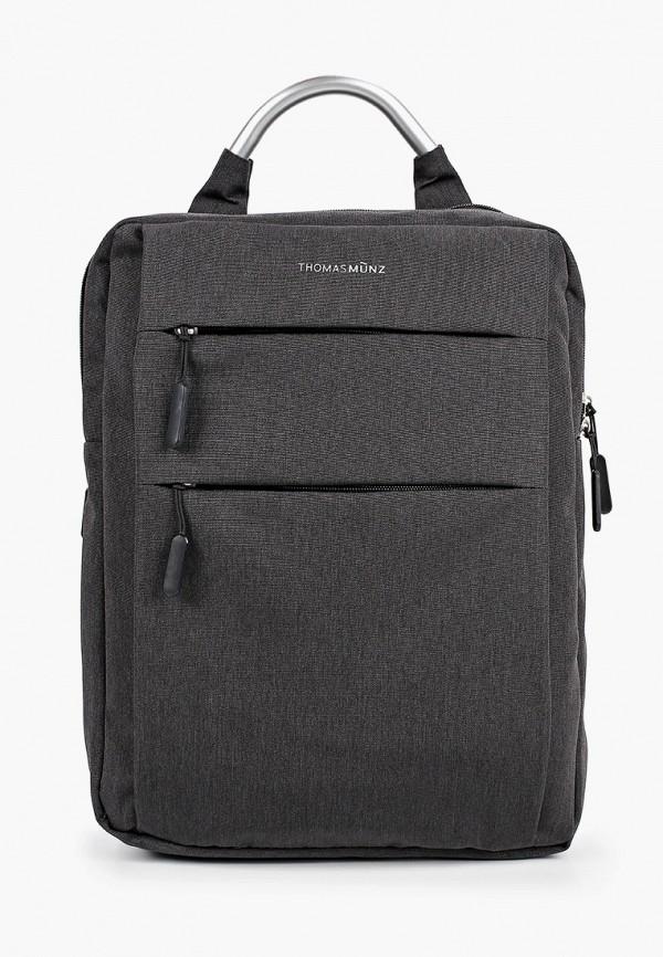 мужской рюкзак thomas munz, черный