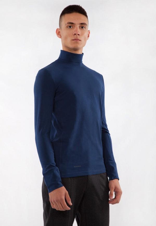 мужская водолазка bodro design, синяя