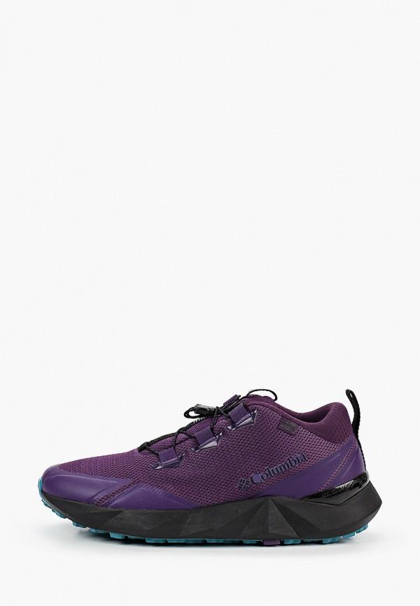 мужские низкие кроссовки columbia, фиолетовые