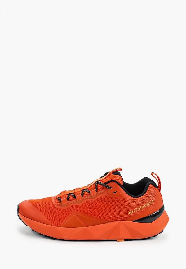 мужские низкие кроссовки columbia, оранжевые