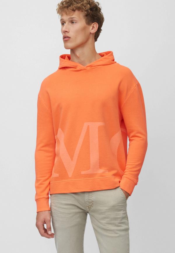 мужские худи marc o'polo, оранжевые