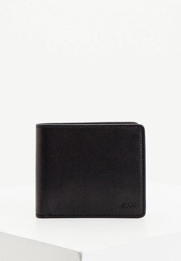 мужской кошелёк boss, черный
