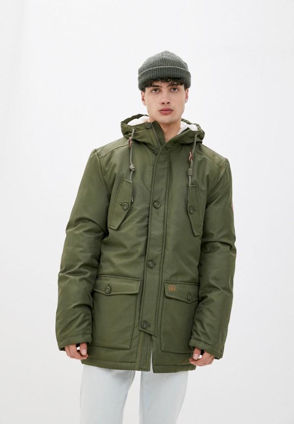 мужская утепленные куртка indicode jeans, хаки