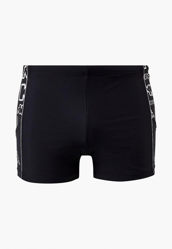 мужские плавки kappa, черные