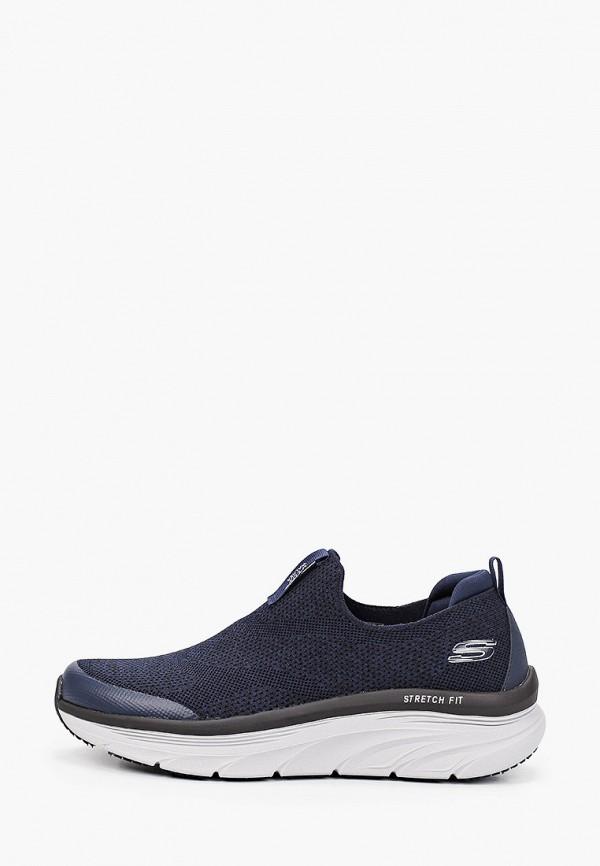 мужские низкие кроссовки skechers, синие