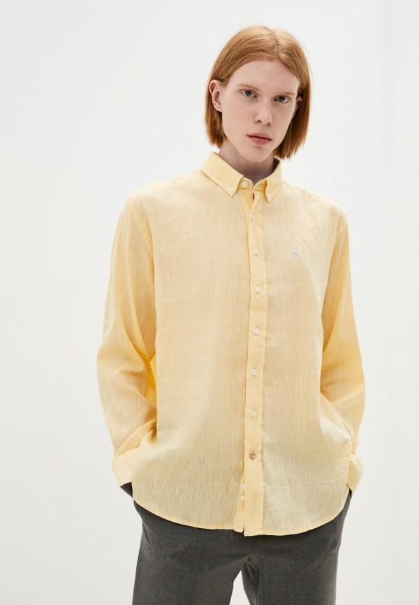 Рубашка El Caballo Sevilla 1892 желтого цвета