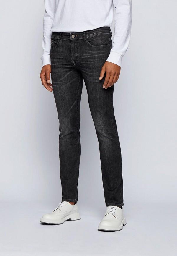 мужские прямые джинсы boss, черные