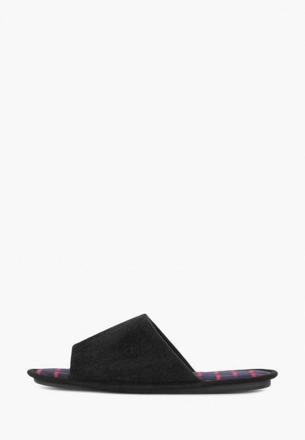 Тапочки T.Taccardi черного цвета
