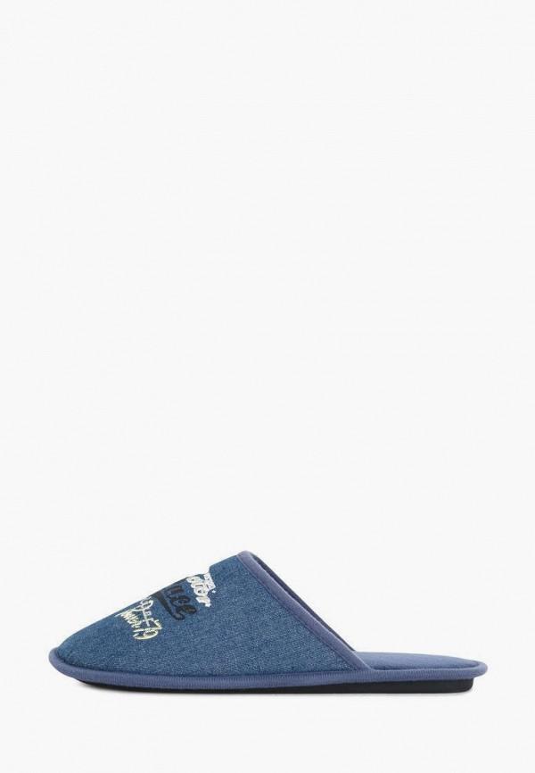 Тапочки T.Taccardi синего цвета