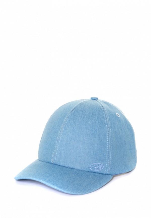 женская бейсболка anna bask, голубая