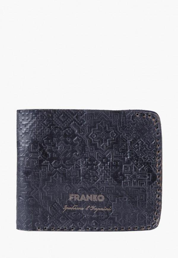 мужской кошелёк franko, черный