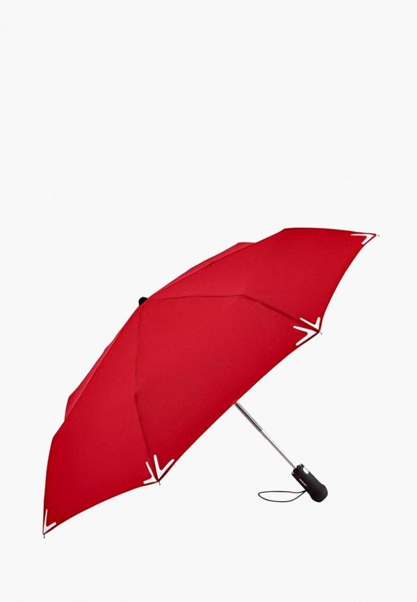 мужской зонт fare, красный