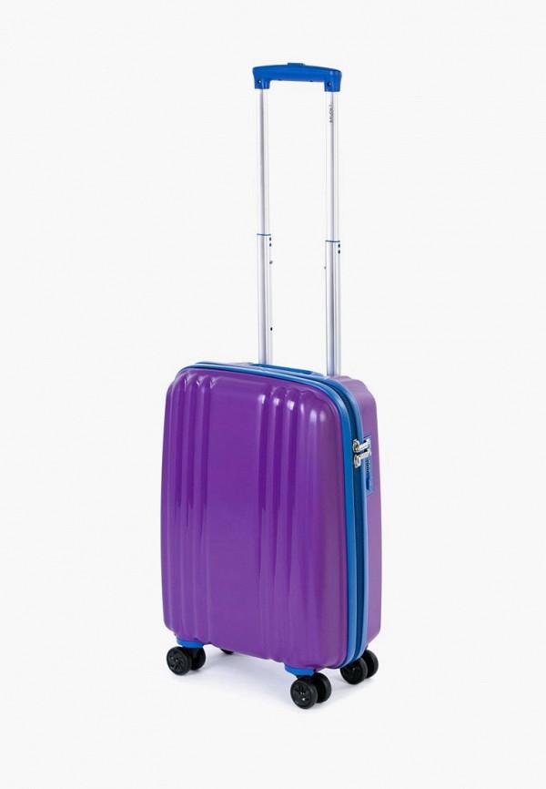 женский чемодан baudet, фиолетовый