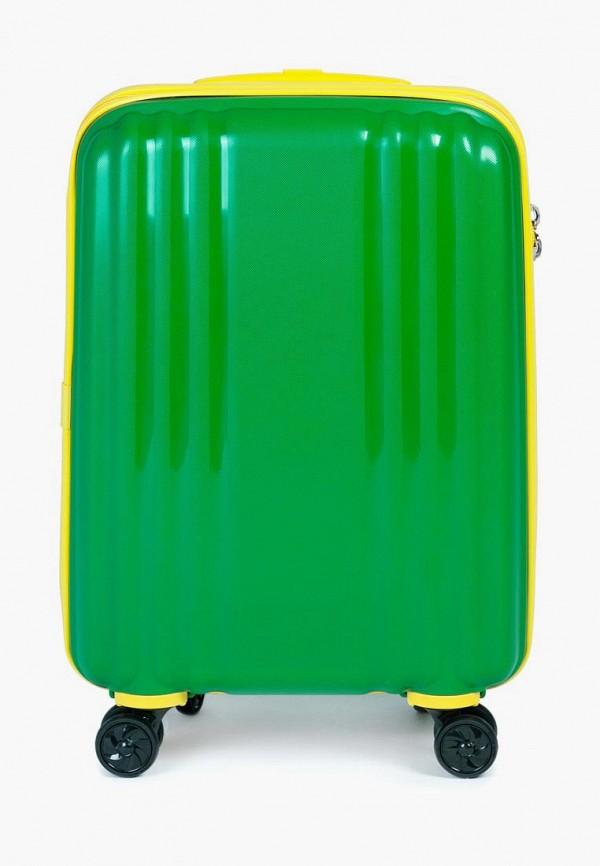 мужской чемодан baudet, зеленый