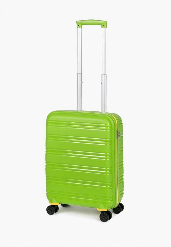 женский чемодан baudet, зеленый