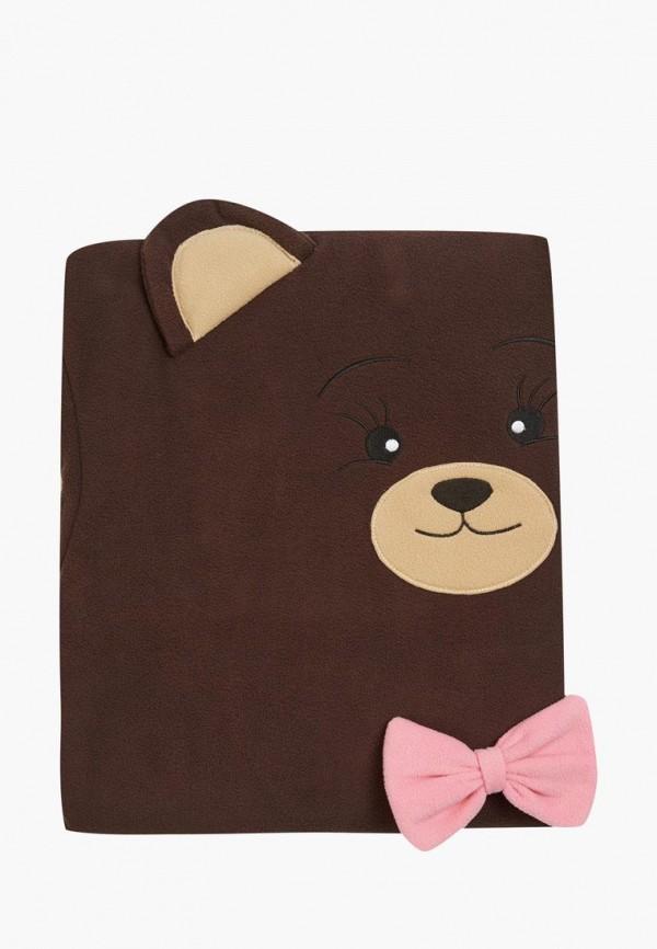 Купить Плед HandyWear, Мишка МИМИ 145х110, MP002XU00ZLS, коричневый, Весна-лето 2018