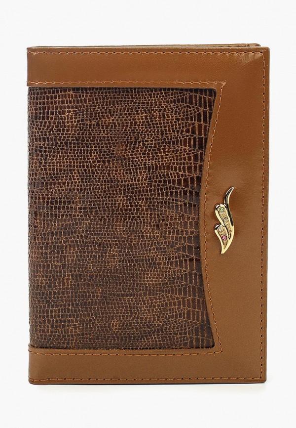 Купить Обложка для документов Franchesco Mariscotti, mp002xu0108f, коричневый, Осень-зима 2017/2018