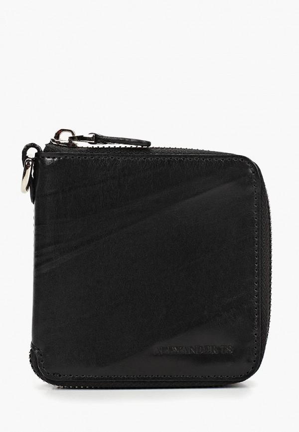 женский кошелёк alexander tsiselsky, черный
