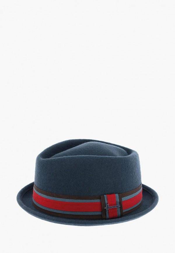 женская шляпа herman, синяя