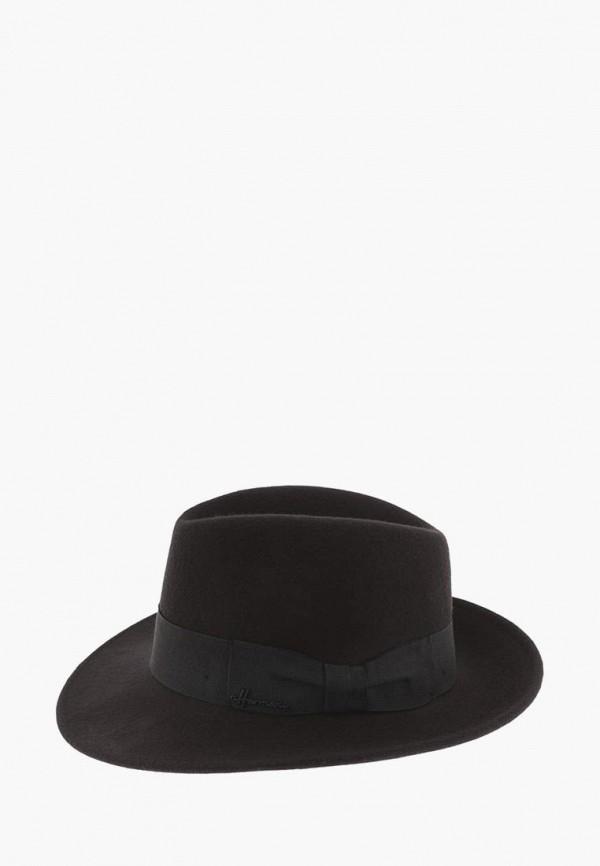 женская шляпа herman, черная