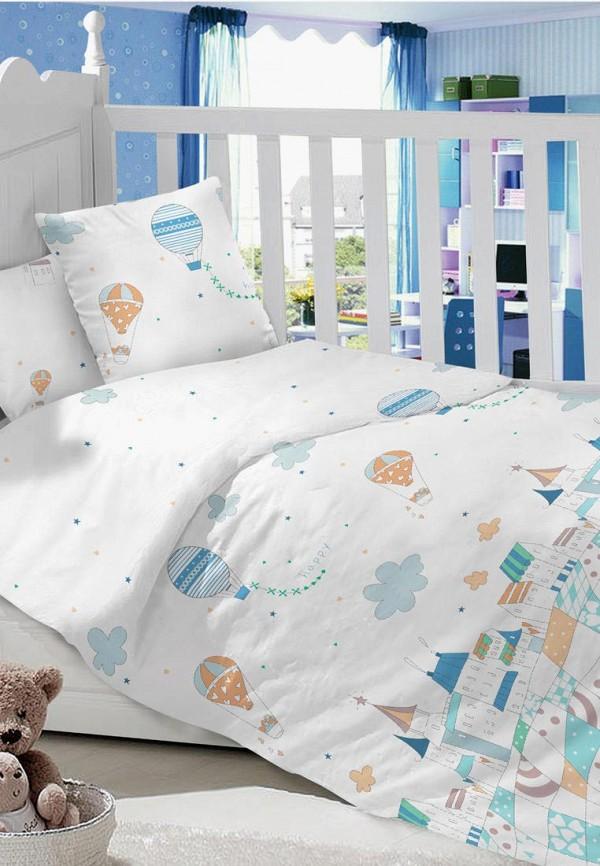 Купить Постельное белье детское Dream Time, белый, unisex, Весна-лето 2019, Детское постельное белье