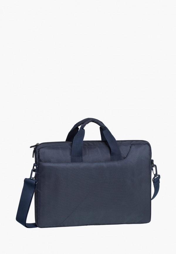 женская сумка rivacase, синяя