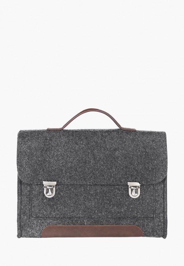 женский портфель gmakin, серый