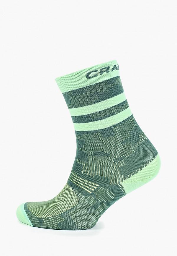 женские носки craft, зеленые