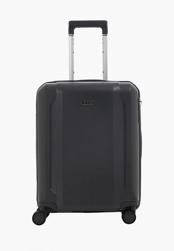 женский чемодан have a rest, серый