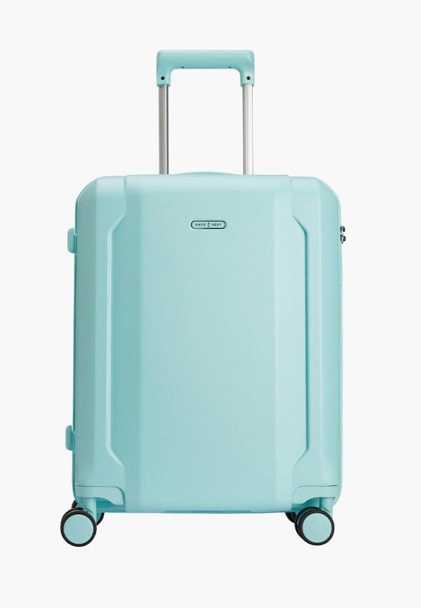 женский чемодан have a rest, бирюзовый