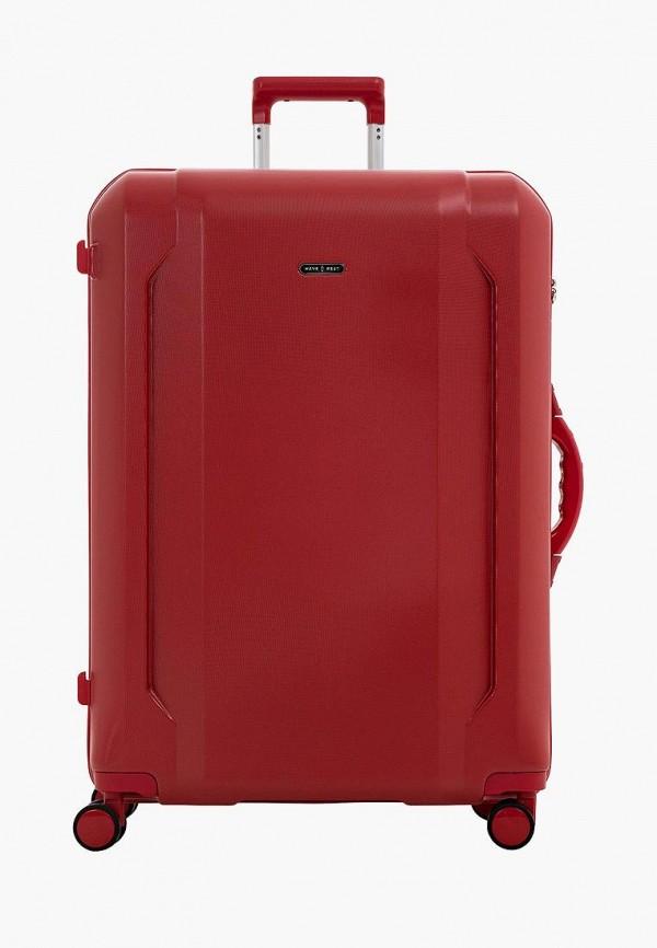 женский чемодан have a rest, красный