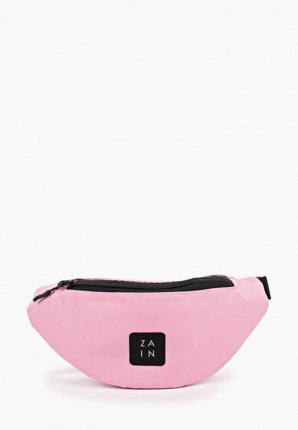 женская сумка zain, розовая