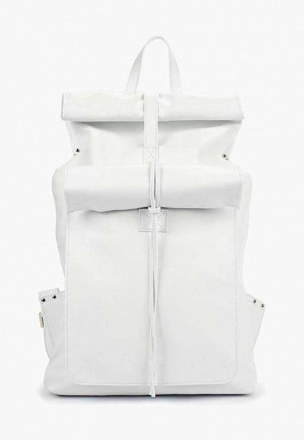 женский рюкзак asya malbershtein, белый