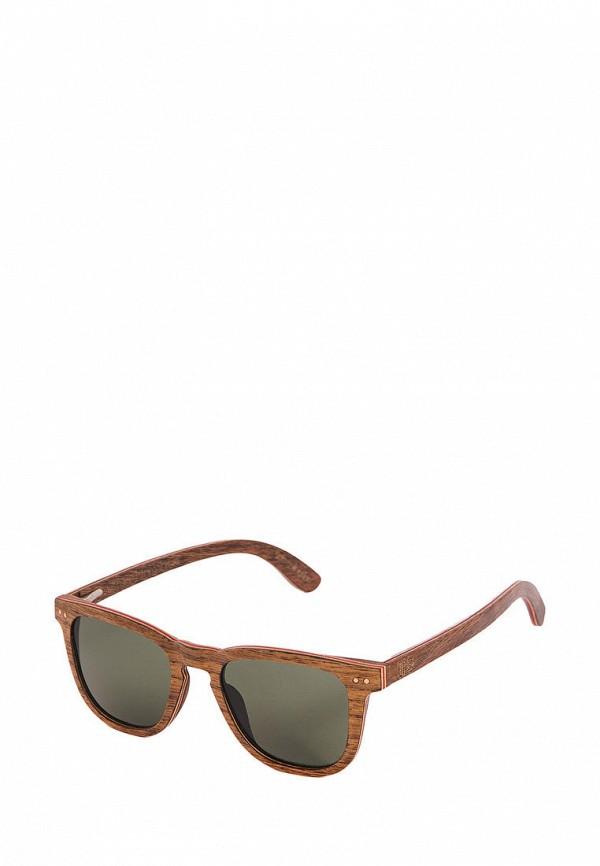 Фото - Очки солнцезащитные BRO коричневого цвета
