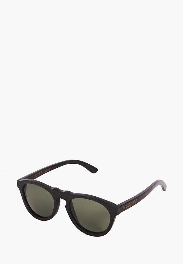 Фото 4 - Очки солнцезащитные BRO коричневого цвета