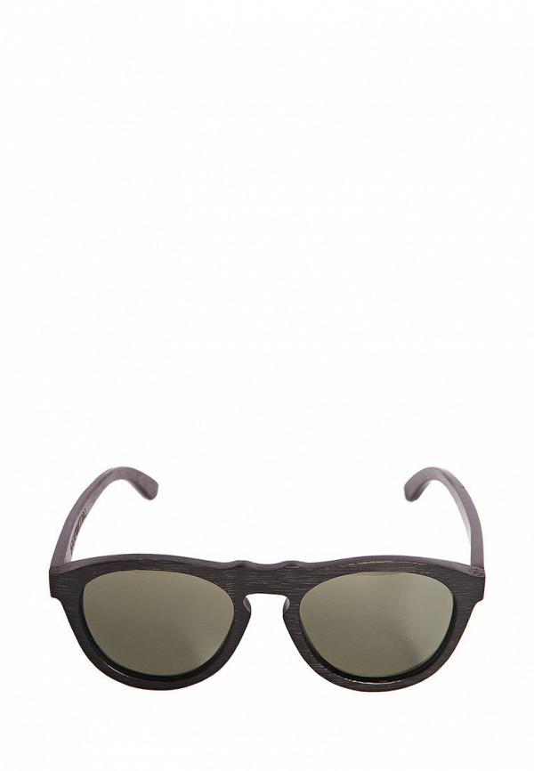 Фото 3 - Очки солнцезащитные BRO коричневого цвета